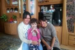Odwiedziny Oliwii Kuśmierskiej przez pracowników Fundacji