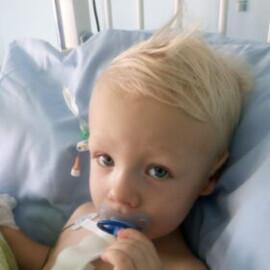 Alan opuścił szpital. Lekarze nie kryli zdumienia , że Alanek w tak krótkim czasie wrócił do pełni sił.