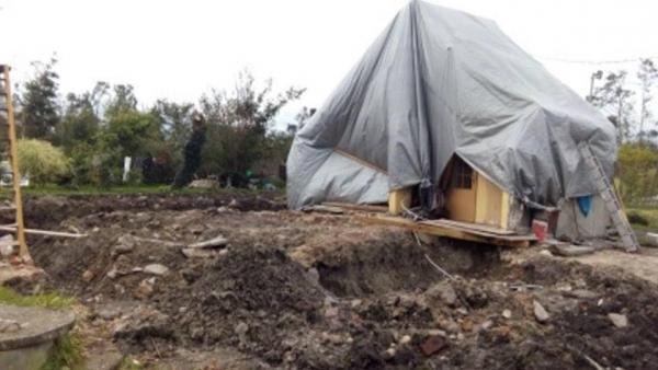 Zakupiliśmy stal potrzebną do odbudowy dachu